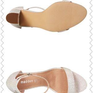 ba8e53eb716 Madden Girl Shoes - Madden Girl Hologram Beella Dress Sandals Size 10M